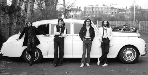 The Beatles en un instante de tensa calma durante 1968