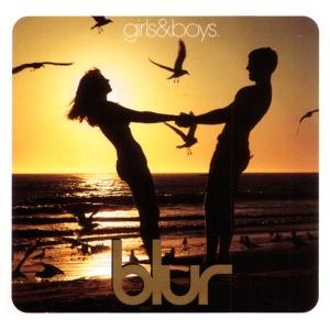 Portada del single Girls & Boys de Blur parodiando los condones Durex